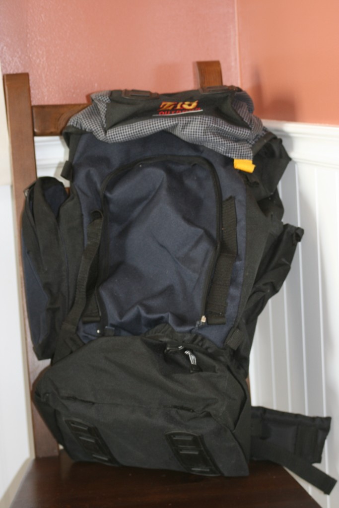the bare backpack